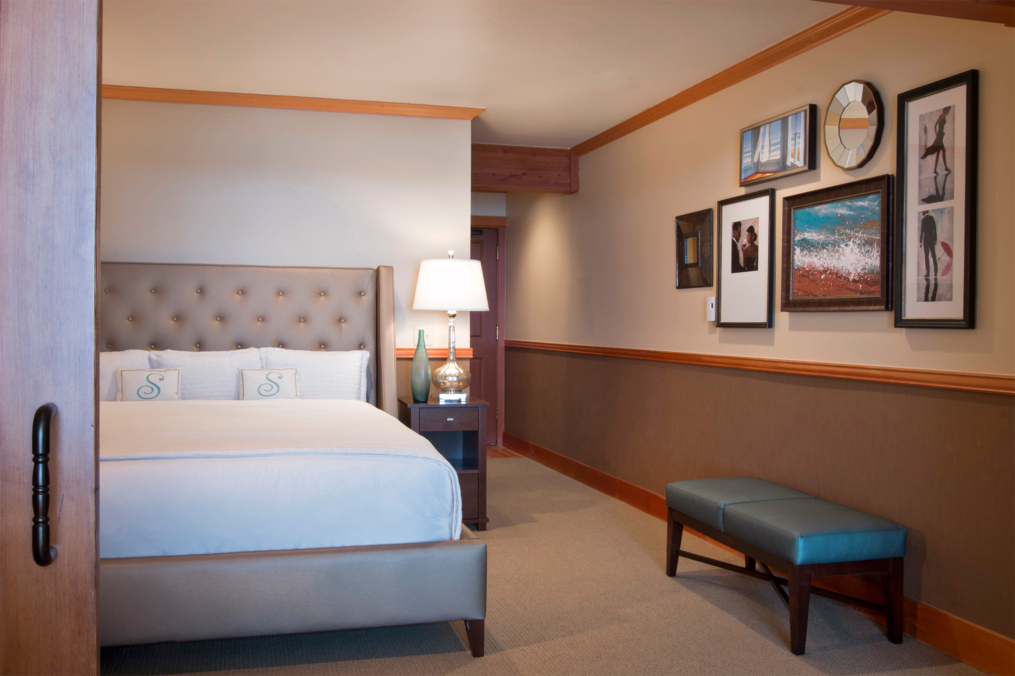 Dormer Room oceanfront dormer room - stephanie inn - oceanfront hotel in