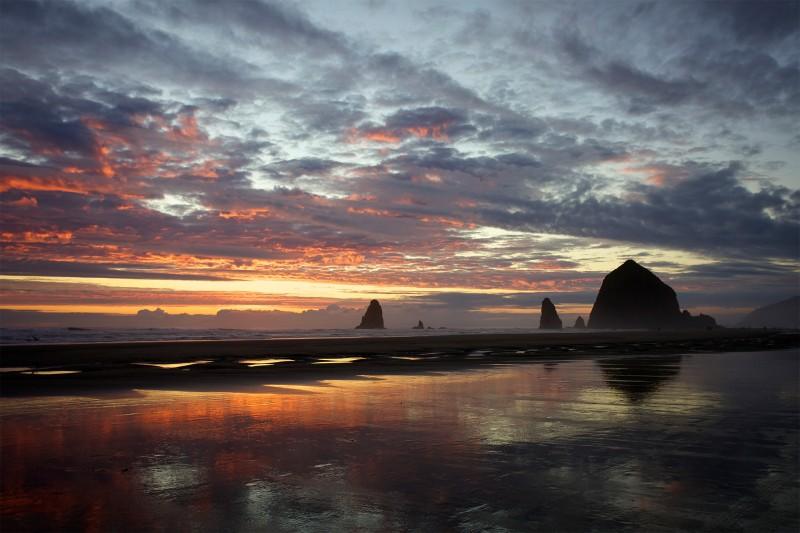 Sunset views in Oregon