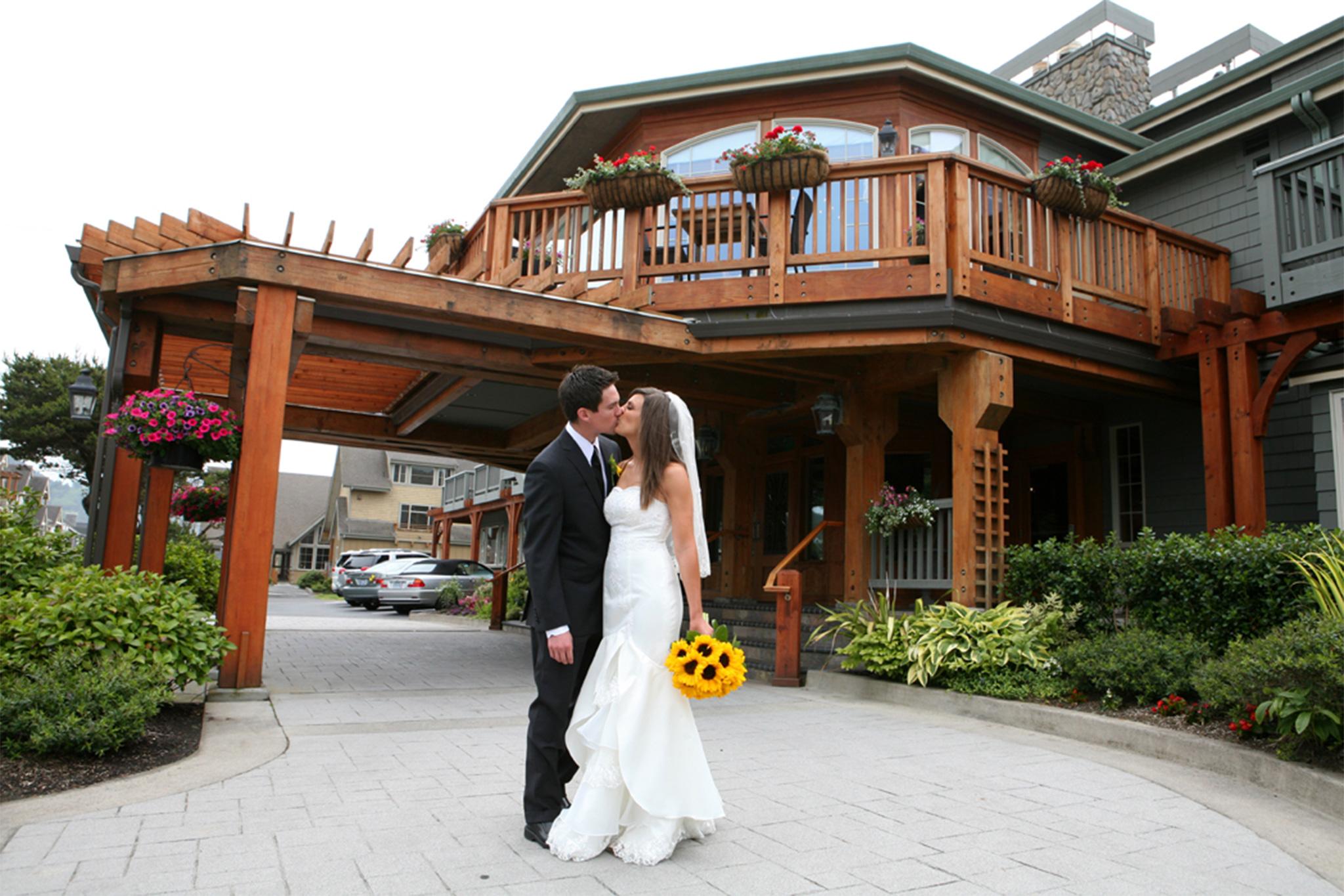 Cannon Beach Weddings Stephanie Inn Hor208 Oceanfront Hotel In Oregon