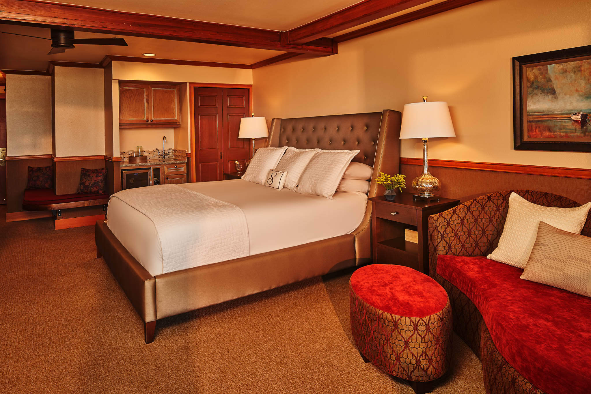 Amazing room details to make your stay feel like home