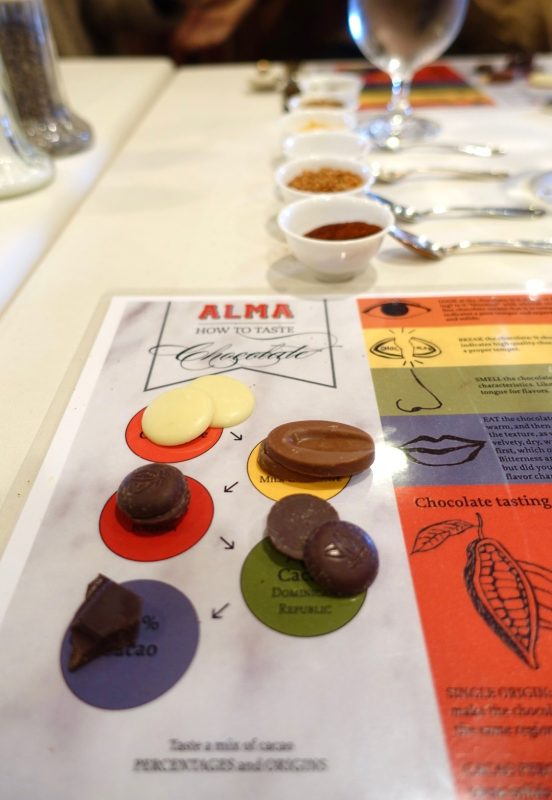 Learning all about chocolate